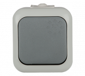 Ключ единичен влагозащитен Евро IP44