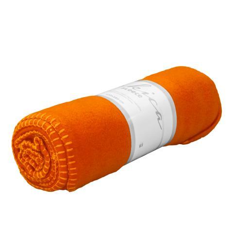 Одеяло Полар 130х160 см  оранжево 2