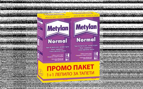 Промо Metylan Normal лепило 2х125 г
