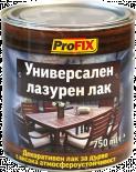 Лазурен лак алкиден Profix 0.75 л, безцветен