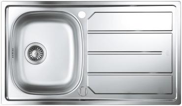 Кухненска мивка от неръждаема стомана GROHE 86x50