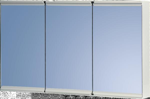 Малък шкаф за баня, огледален 3 врати