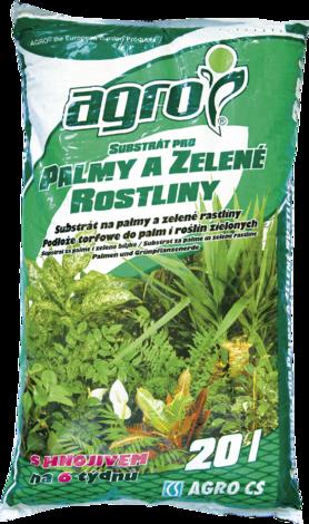 Субстрат за палми и зелени 20