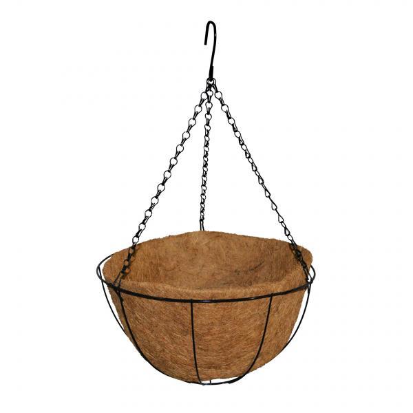 Висяща кокосова саксия Ф30,5