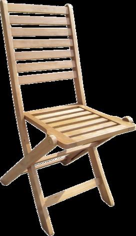 Сгъваем стол 44x55x92,5см., дървен