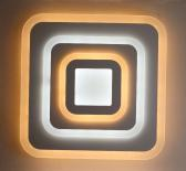 LED плафон Джоан 48 cm, 100W, 7000Lm, 2800K-6500K,DIM, метал и синтетика