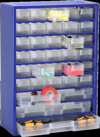 Метална кутия 35, синьо