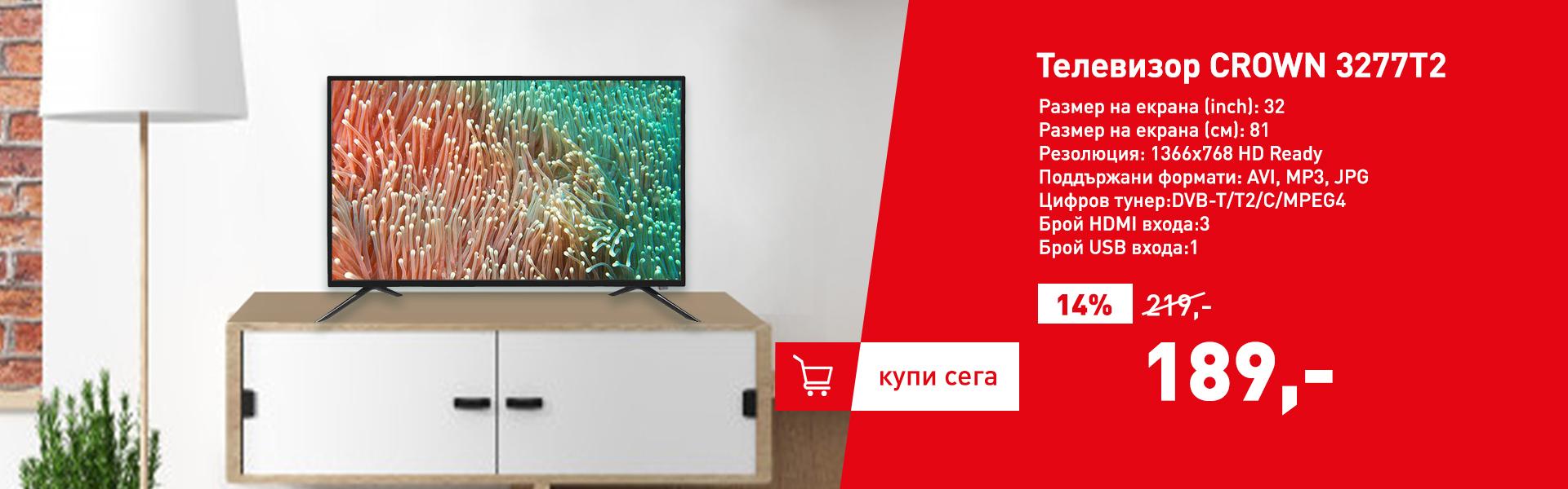 Телевизор CROWN