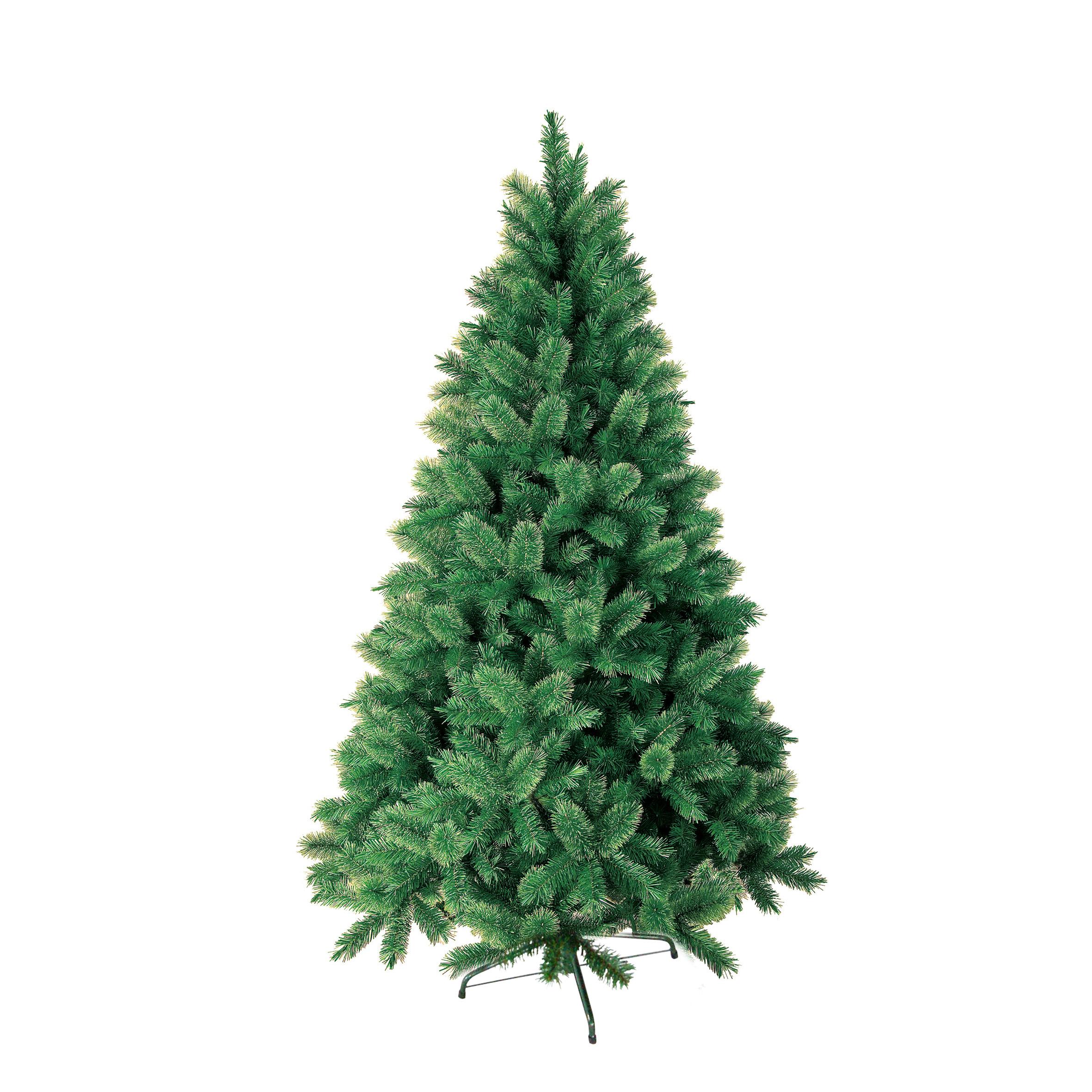 Изкуствена елха PVC зелена 180см